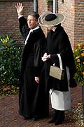 Hare Koninklijke Hoogheid Prinses Alexia, de jongste dochter van Zijne Koninklijke Hoogheid de Prins van Oranje en Hare Koninklijke Hoogheid Prinses Máxima, is zaterdag 19 november 2005 gedoopt in de Dorpskerk in Wassenaar. <br /> <br /> Baptism of Princess Alexia, the youngest daughter of Prince Willem-Alexander and Princess Máxima. Princess Alexia (born June 26, 2005) has been baptized in the church in Wassenaar. The ceremony was attended by The Dutch Royal Family and the parents of Princess Máxima.  <br /> <br /> Op de foto / On the photo:<br /> <br /> <br /> Ds J.A.D. van der Boon, predikant van de Dorpskerk Wassenaar .