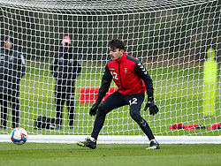 Max O'Leary of Bristol City during a training session ahead of the FA Cup game with Portsmouth - Rogan/JMP - 07/01/2021 - Failand - Bristol, England.