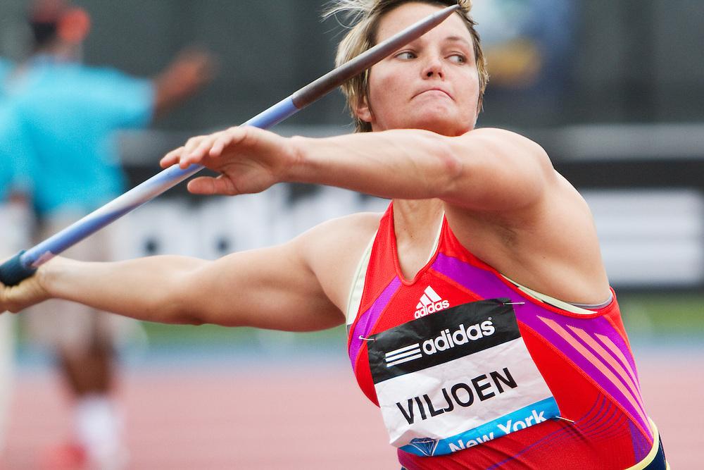 Samsung Diamond League adidas Grand Prix track & field; Sunette Viljoen, RSA, Javelin, winner