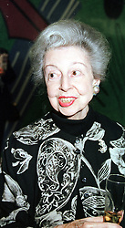 Ballerina DAME ALICIA MARKOVA, at a concert in<br />  London on 3rd May 2000.ODK 49
