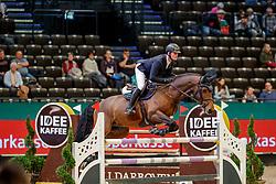 TEBBEL Maurice (GER), Copin's Boy<br /> Leipzig - Partner Pferd 2020<br /> FUNDIS Youngster Tour<br /> Finale für 7jährige Pferde<br /> Zwei-Phasen Springprfg., int.<br /> Höhe: 1.40 m<br /> 19. Januar 2020<br /> © www.sportfotos-lafrentz.de/Stefan Lafrentz