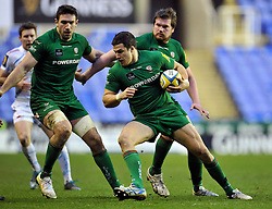Fergus Mulchrone of London Irish - Photo mandatory by-line: Patrick Khachfe/JMP - Mobile: 07966 386802 11/01/2015 - SPORT - RUGBY UNION - Reading - Madejski Stadium - London Irish v Exeter Chiefs - Aviva Premiership