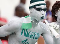Photo: Steve Bond/Richard Lane Photography.<br />Nigeria v Ivory Coast. Africa Cup of Nations. 21/01/2008. Nigeria fan