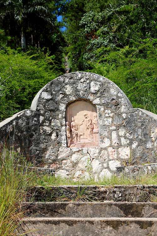 Monument in San Miguel de los Banos, Matanzas, Cuba.
