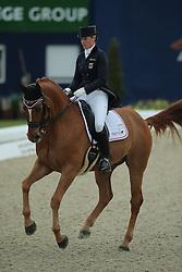 Brune Bernadette, (GER), Light of Londonderry<br /> Qualification Grand Prix Kur<br /> Horses & Dreams meets Denmark - Hagen 2016<br /> © Hippo Foto - Stefan Lafrentz