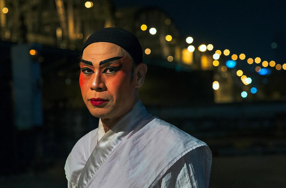 Chinese opera performer, Bangkok, Thailand