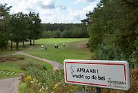 Lieren  /  Apeldoorn -  hole 3. Golfbaan , Golf- en businessclub De Scherpenbergh  .COPYRIGHT KOEN SUYK