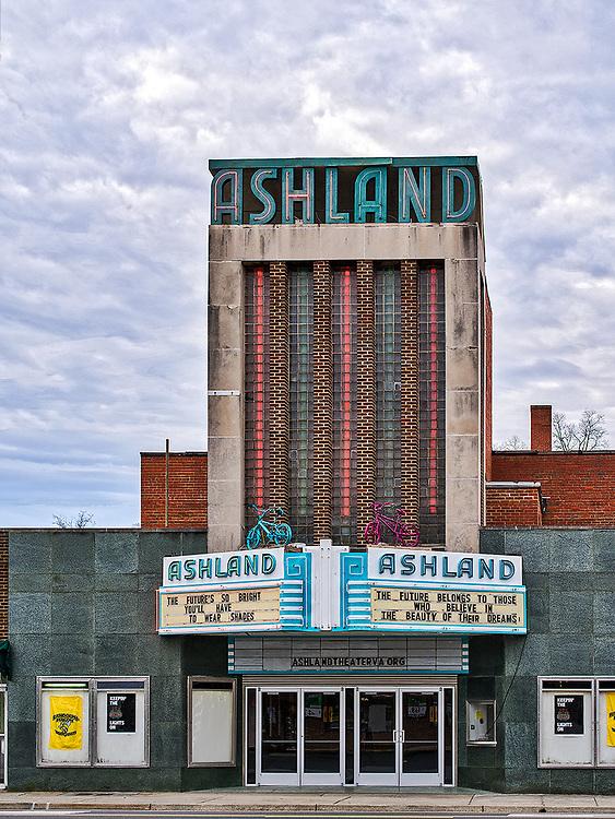 The historic Ashland, Virginia movie theater.