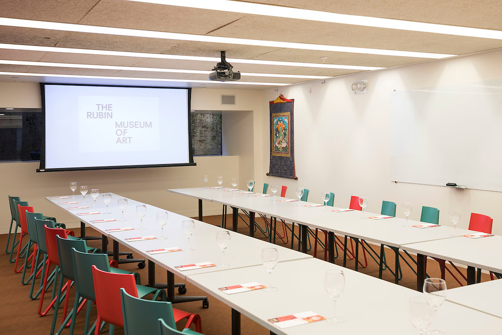 NEW YORK CITY - FEBRUARY 24:  Education Center at the Rubin Museum on February 24, 2017 New York City. (Photo by Ben Hider)