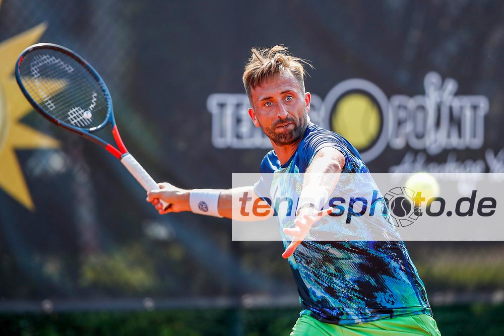 Marvin Netuschil (GER) - ATP-Ranking #550 bei der International Premier League (IPL) - 3. Event am 10.8.2020 in Halle (TC Blau-Weiss Halle), Deutschland , Foto: Mathias Schulz