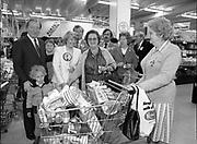 Charles James Haughey at Northside Shopping Center, Dublin,<br /> 1st June 1984