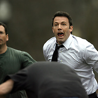 Ben Affleck in and around Boston,Mass. Filming and acting. Photo by Mark Garfinkel