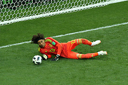 June 17, 2018 - Moscow, Russia - June 17, 2018, Russia, Moscow, FIFA World Cup, First round, Group F, Germany vs Mexico at the Luzhniki stadium. Player of the national team Guillermo Francisco Ochoa Maganha (Credit Image: © Russian Look via ZUMA Wire)