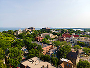 Aerial photograph of Downtown Madison, Wisconsin, USA.