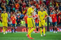 June 10, 2019 - Madrid, SPAIN - 190610 Marcus Berg of Sweden looks dejected after 2-0 during the UEFA Euro Qualifier football match between Spain and Sweden on June 10, 2019 in Madrid..Photo: Joel Marklund / BILDBYRÃ…N / kod JM / 87972 (Credit Image: © Joel Marklund/Bildbyran via ZUMA Press)