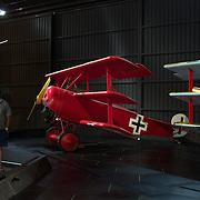 Vintage aircraft on display at Omaka Aviation Heritage Centre, Aerodrome Road. Omaka, Blenheim. New Zealand, 10th February 2011. Photo Tim Clayton