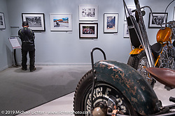 More Mettle - Motorcycles and Art That Never Quit exhibition in the Buffalo Chip Events Center Gallery during the Sturgis Motorcycle Rally. SD, USA. Wednesday, August 11, 2021. Photography ©2021 Michael Lichter.