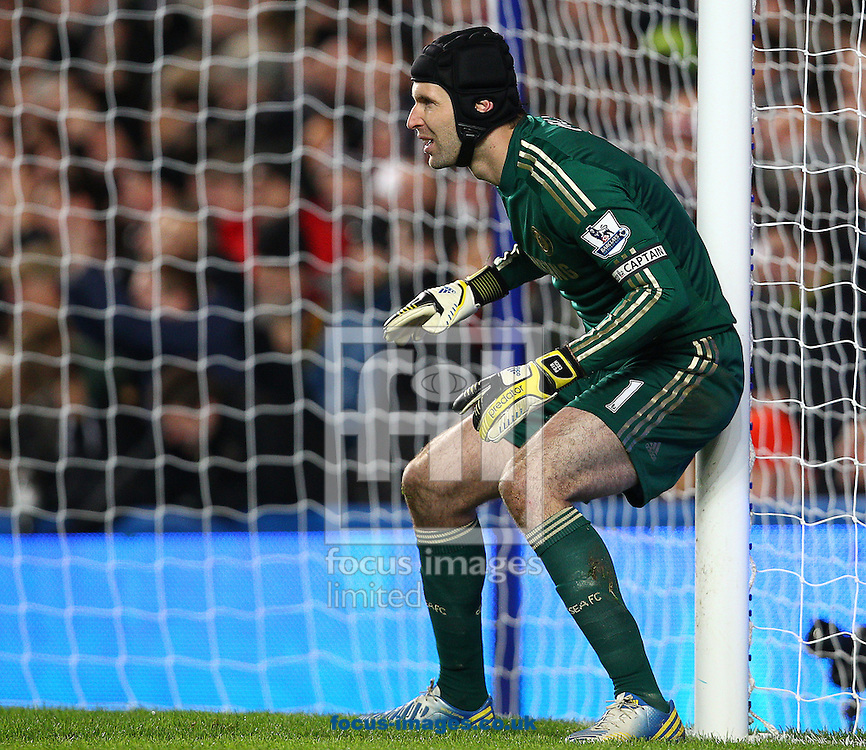 Picture by Paul Terry/Focus Images Ltd +44 7545 642257.28/11/2012.Petr Cech of Chelsea during the Barclays Premier League match at Stamford Bridge, London.