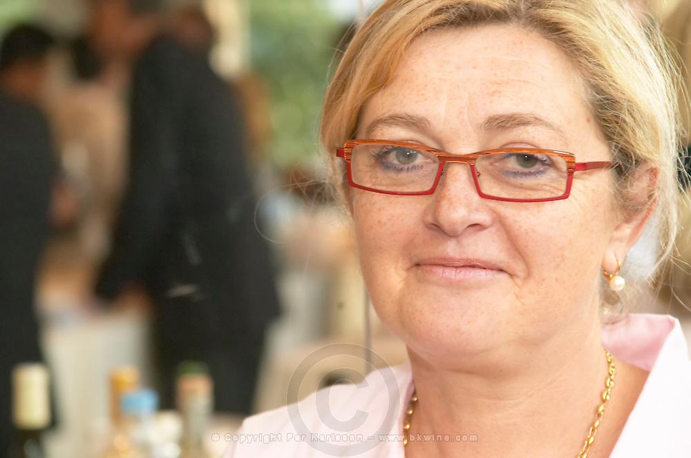 Françoise Boyer Domaine La Croix Belle. Cotes de Thongue. Languedoc. Owner winemaker. France. Europe.