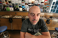 Pezz, director of 3beat Records in Liverpool city centre which specialises in dance music vinyl sales, one of the dwindling number of independent record retailers in the UK.