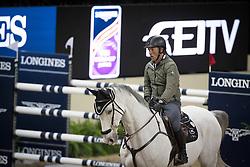 Schroder Gerco, (NED), Glocks Cognac Champblanc <br /> Training session<br /> Longines FEI World Cup™ Jumping Finals <br /> Las Vegas 2015<br />  © Hippo Foto - Dirk Caremans<br /> 15/04/15