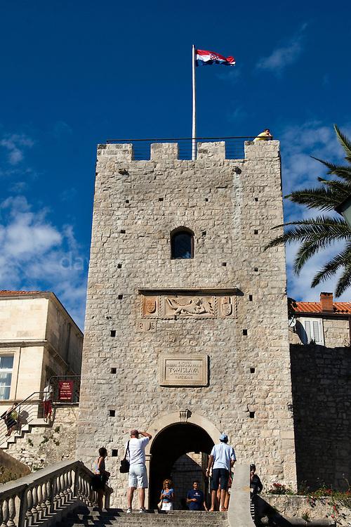 City gate, Korcula, Croatia