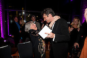 MARY ROGERS; PAULO SZOT, South Pacific First night party. The Barbican. London. 23 August 2011. <br /> <br />  , -DO NOT ARCHIVE-© Copyright Photograph by Dafydd Jones. 248 Clapham Rd. London SW9 0PZ. Tel 0207 820 0771. www.dafjones.com.