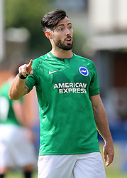 "Brightons Richie Towell during a pre season friendly match at The Cherry Red Records Stadium, Kingston Upon Thames. PRESS ASSOCIATION Photo. Picture date: Saturday July 21, 2018. Photo credit should read: Mark Kerton/PA Wire. EDITORIAL USE ONLY No use with unauthorised audio, video, data, fixture lists, club/league logos or ""live"" services. Online in-match use limited to 75 images, no video emulation. No use in betting, games or single club/league/player publications."