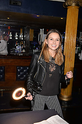 Daisy Jenks at the SheInspiresMe Dance in aid of Women for Women International held at the Café de Paris, 3 Coventry Street, London England. 25 January 2017.