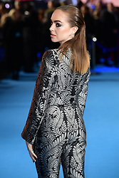 Louisa Connolly-Burnham attending the Aquaman premiere held at Cineworld in Leicester Square, London.