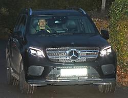 Nemanja Matic in his Mercedes 4x4.