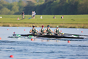 Race: 109  Event: W Club 4+  Final<br /> <br /> Wallingford Regatta 2018<br /> <br /> To purchase this photo, or to see pricing information for Prints and Downloads, click the blue 'Add to Cart' button at the top-right of the page.