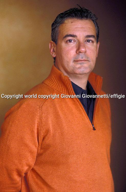 Ilija Trojanow<br />Milano, marzo 2007<br />world copyright Giovanni Giovannetti/effigie / Writer Pictures<br /> <br /> NO ITALY, NO AGENCY SALES / Writer Pictures<br /> <br /> NO ITALY, NO AGENCY SALES