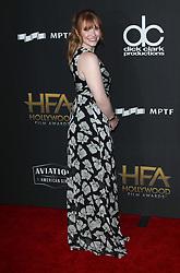 Hollywood Film Awards - Los Angeles. 05 Nov 2017 Pictured: Bryce Dallas Howard. Photo credit: Jaxon / MEGA TheMegaAgency.com +1 888 505 6342