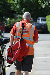 © Licensed to London News Pictures. 10/07/2013<br /> Royal Mail Privatisation. <br /> Royal Mail Delivery office Sidcup,Greater London.<br /> Ministers are expected to announce further details of the privatisation of Royal Mail later today (10.07.2013) The government is expected to press ahead with its plan for a share flotation, possibly by the autumn.The sale is likely to value the business at £2bn-£3bn, and at least 10% of shares will be set aside for postal workers.<br /> Photo credit :Grant Falvey/LNP