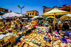 Arts and crafts for sale in the medina in Marrakech, North Africa<br /> <br /> (c) Andrew Wilson | Edinburgh Elite media