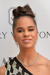 May 20, 2019 - New York, NY, USA - May 20, 2019  New York City..Misty Copeland attending arrivals to the American Ballet Theater  Spring Gala at the Metropolitan Opera House in Lincoln Center on May 20, 2019 in New York City. (Credit Image: © Kristin Callahan/Ace Pictures via ZUMA Press)