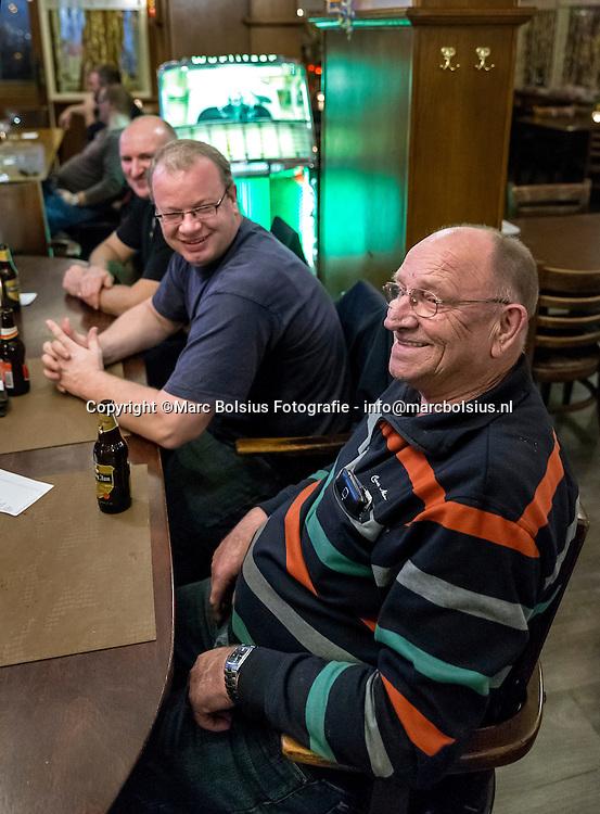 Nederland,  Boxtel, truckerscafe Oude Ketting voor Expeditie Meierij van Eric Alink
