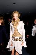 Nicole Kidman, Cold Mountain premiere after-party. Royal Opera House, 14 December 2003. © Copyright Photograph by Dafydd Jones 66 Stockwell Park Rd. London SW9 0DA Tel 020 7733 0108 www.dafjones.com