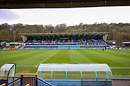 General view of the Adams Park stadium before the EFL Sky Bet League 1 match between Wycombe Wanderers and Plymouth Argyle at Adams Park, High Wycombe, England on 26 January 2019.
