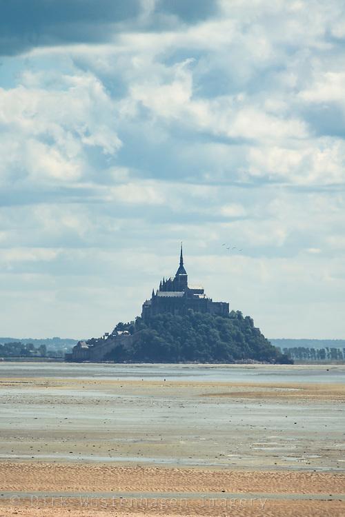 Mont Saint Michel, Genêts. Normandie, Frankreich