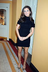 TANIA SHAMMAS at a fashion show and lunch in aid of  AMAR International Charitable Foundation held at The Dorchester, Park Lane, London W1 on 9th October 2008.