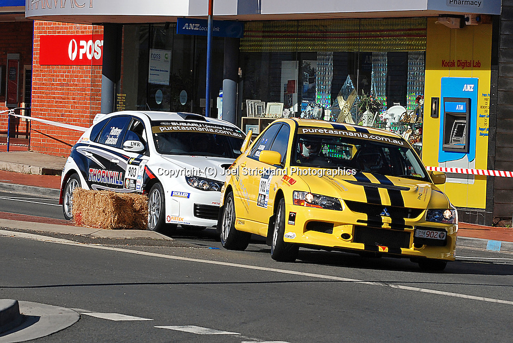 Prologue.George Town.Targa Tasmania 2010.27th of April 2010.(C) Joel Strickland Photographics.Use information: This image is intended for Editorial use only (e.g. news or commentary, print or electronic). Any commercial or promotional use requires additional clearance.