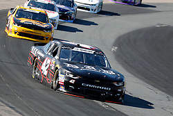 July 21, 2018 - Loudon, NH, U.S. - LOUDON, NH - JULY 21: John Hunter Nemechek, Xfinity Series driver of the D.A.B. Contractors Inc. Chevrolet (42), during the Xfinity Series Lakes Region 200 on July 21, 2018, at New Hampshire Motor Speedway in Loudon, New Hampshire. (Photo by Fred Kfoury III/Icon Sportswire) (Credit Image: © Fred Kfoury Iii/Icon SMI via ZUMA Press)