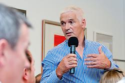 Rudi Hiti na skupscini Hokejske zveze Slovenije, on September 7, 2011, in Ljubljana, Slovenia. (Photo by Matic Klansek Velej / Sportida)