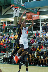 30 December 2017: State Farm Holiday Classic Coed Basketball Tournament at Shirk Center in Bloomington IL<br /> <br /> SFHC - Large School Boys Chicago North Lawndale College Prep Phoenix v Normal Community Ironmen Championship