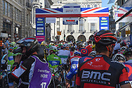 The start of the Tour of Britain 2016 stage 8 , London, United Kingdom on 11 September 2016. Photo by Martin Cole.