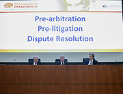 Pre-arbitration, Pre-litigation, Dispute Resolution panel. Advisen's Transaction Insurance Insights Conference at New York Law School.
