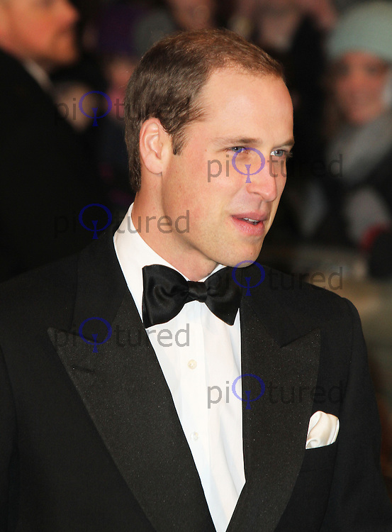 LONDON - DECEMBER 12: Prince William Duke of Cambridge attended the Royal Film Performance 2012 of 'The Hobbit: An Unexpected Journey' at the Odeon Cinema, Leicester Square, London, UK. December 12, 2012. (Photo by Richard Goldschmidt)