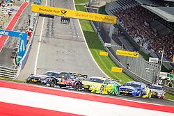 03.08.2014, Red Bull Ring, Spielberg, AUT, DTM Red Bull Ring, Renntag, im Bild Antonio Felix da Costa, (POR, Red Bull BMW M4 DTM), Mike Rockenfeller, (CAN, Schaeffler Audi RS 5 DTM), Gary Paffnett, (GBR, EURONICS Mercedes AMG), Edoardo Mortara, (GER, Audi Sport Audi RS 5 DTM) // during the DTM Championships 2014 at the Red Bull Ring in Spielberg, Austria, 2014/08/03, EXPA Pictures © 2014, PhotoCredit: EXPA/ M.Kuhnke